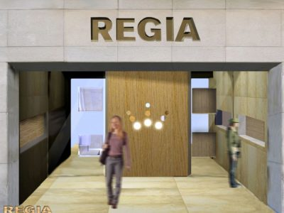 Progetto profumeria Regia