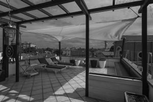 Barca a vela in terrazza - Dopo